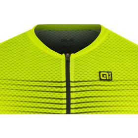 Alé Cycling Graphics PRR Slide Hihaton Jersey Miehet, black flou yellow
